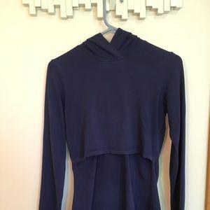Tops - XS (fits like S) Momzelle nursing hoodie